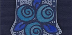 Blue Posies