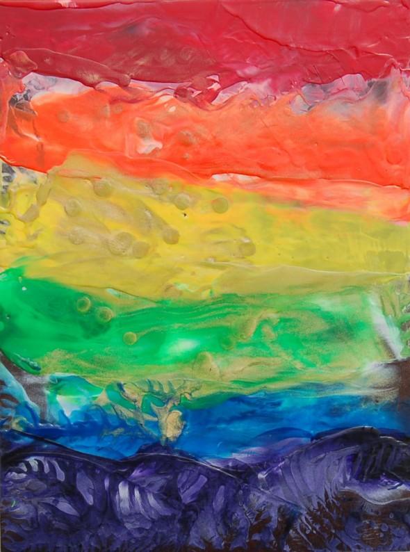 Cirrus Rainbow