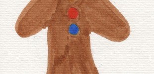 Doodle Week: Gingerbread