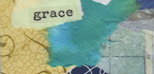 Collaged Words: Grace