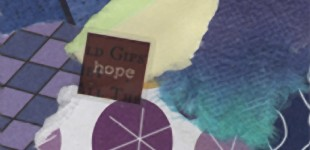 Collaged Words: Hope I