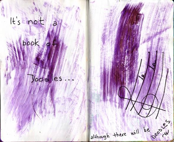 Sketchbook Project: Spread 2