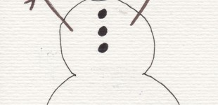 Doodle Week: Snow People