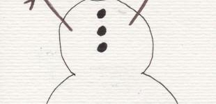 Doodle Week: Snow People
