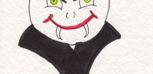 Doodle Week: Vampire